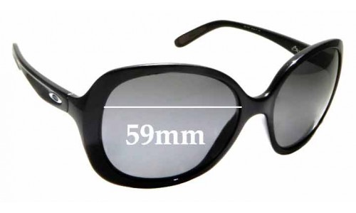 Sunglass Fix Sunglass Replacement Lenses for Oakley Backhand OO9178 - 59mm wide
