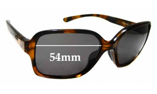 Sunglass Fix Sunglass Replacement Lenses for Oakley Proxy OO9312 - 54mm wide