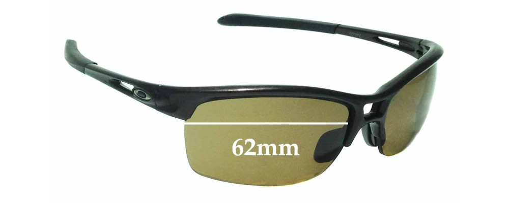 7fe259fc5bd Sunglass Fix Sunglass Replacement Lenses for Oakley RPM Squared OO9205 -  62mm wide