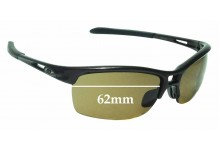 Sunglass Fix Sunglass Replacement Lenses for Oakley RPM Squared OO9205 - 62mm Wide