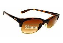 Sunglass Fix Sunglass Replacement Lenses for Oakley RSVP OO9204 - 53mm Wide