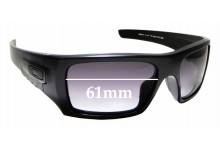 Sunglass Fix Sunglass Replacement Lenses for Oakley Det Cord OO9253 - 61mm Wide