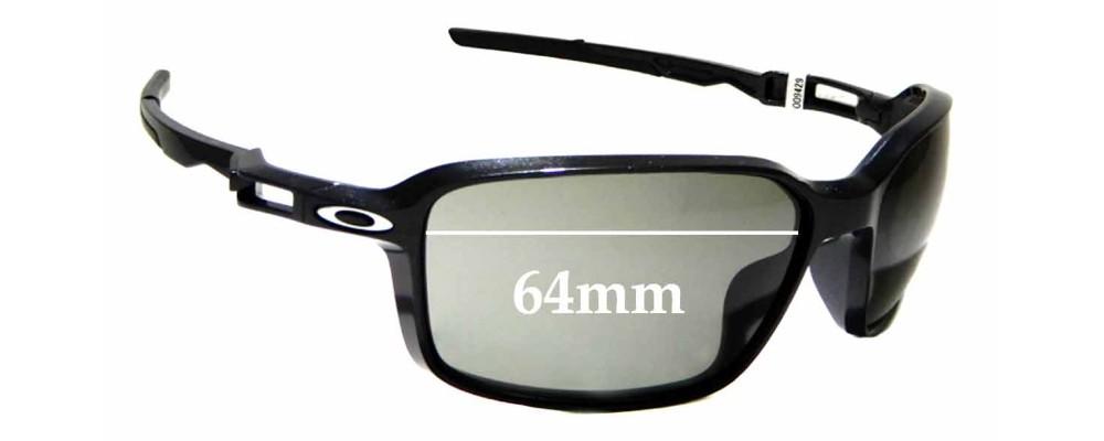 Sunglass Fix Sunglass Replacement Lenses for Oakley Siphon OO9429 - 64mm Wide