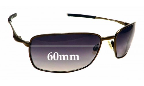 Sunglass Fix Sunglass Replacement Lenses for Oakley Square Wire OO6016 - 60mm Wide