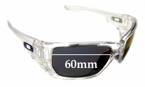 Sunglass Fix Sunglass Replacement Lenses for Oakley Style Switch OO9194 - 60mm wide