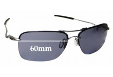 Sunglass Fix Sunglass Replacement Lenses for Oakley Tailback OO4109 - 60mm Wide