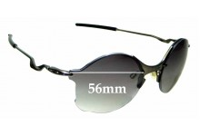 Sunglass Fix Sunglass Replacement Lenses for Oakley Tailend OO4088 - 56mm Wide