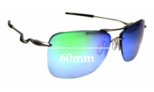 Sunglass Fix Sunglass Replacement Lenses for Oakley Tailhook OO4087 - 60mm Wide