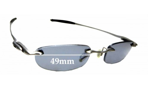 Sunglass Fix Sunglass Replacement Lenses for Oakley Why 4 - 49mm Wide