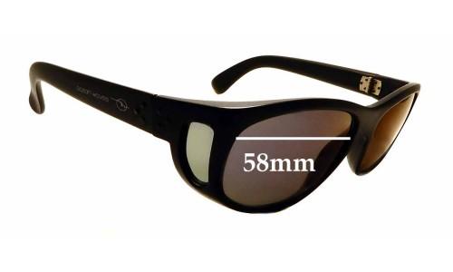 Sunglass Fix Sunglass Replacement Lenses for Ocean Waves Nassau - 58mm Wide