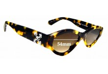 Sunglass Fix Sunglass Replacement Lenses for Off White HU4002 - 54 mm Wide