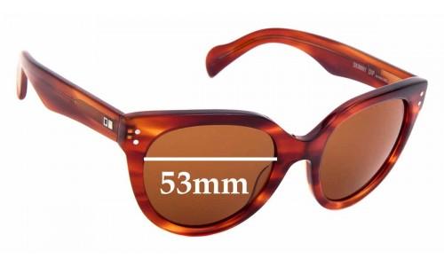 Sunglass Fix Sunglass Replacement Lenses for Otis Skinny Dip - 53mm wide