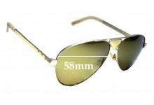 Sunglass Fix Sunglass Replacement Lenses for Pared Funk & Soul - 58mm Wide