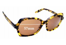 Sunglass Fix Sunglass Replacement Lenses for Paul Taylor Freida - 57mm Wide