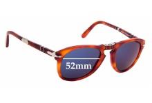 Sunglass Fix Sunglass Replacement Lenses for Persol Steve McQueen 714SM - 52mm Wide