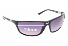 Sunglass Fix Sunglass Replacement Lenses for Police S1716 - 70mm Wide