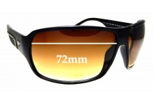Sunglass Fix Sunglass Replacement Lenses for Police S1717 - 72mm Wide