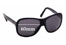 Sunglass Fix Sunglass Replacement Lenses for Prada SPR01M - 60mm Wide