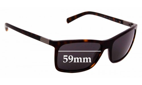 Sunglass Fix Sunglass Replacement Lenses for Prada SPR 16O - 59mm Wide