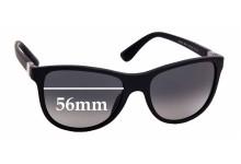 Sunglass Fix Sunglass Replacement Lenses for Prada SPR20S - 56mm Wide