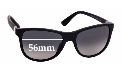 Sunglass Fix Sunglass Replacement Lenses for Prada SPR 20S - 56mm Wide