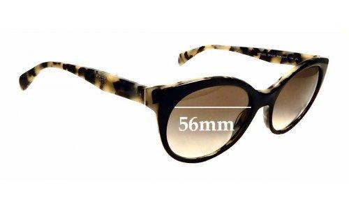 Sunglass Fix Sunglass Replacement Lenses for Prada SPR 230 - 56mm Wide