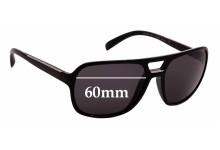 Sunglass Fix Sunglass Replacement Lenses for Prada SPR25M - 60mm Wide