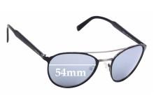 Sunglass Fix Sunglass Replacement Lenses for Prada SPR62T - 54mm Wide