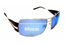 Sunglass Fix Sunglass Replacement Lenses for Prada SPR68H - 68mm Wide