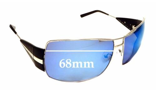 Sunglass Fix Sunglass Replacement Lenses for Prada SPR 68H - 68mm wide