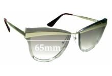 Sunglass Fix Sunglass Replacement Lenses for Prada SPR12U - 65mm Wide **The Sunglass Fix Cannot Provide Lenses For This Model Sorry**