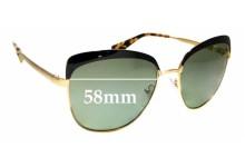 Sunglass Fix Sunglass Replacement Lenses for Prada SPR51T - 56mm Wide