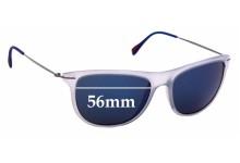 Sunglass Fix Sunglass Replacement Lenses for Prada SPS01P - 56mm Wide