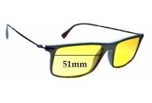 Sunglass Fix Sunglass Replacement Lenses for Prada VPS03E - 51mm Wide