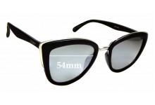 Sunglass Fix Sunglass Replacement Lenses for Quay Australia My Girl - 54mm Wide