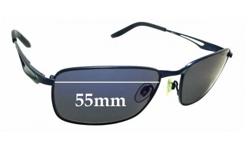 Sunglass Fix Sunglass Replacement Lenses for Quiksilver / Specsavers QS Sun Rx 97- 55mm Wide