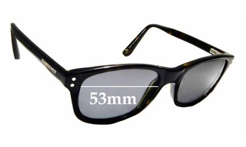 Sunglass Fix Sunglass Replacement Lenses for Quiksilver 45 - 53mm Wide