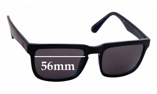 Sunglass Fix Sunglass Replacement Lenses for Quiksilver QS Boardrider Sun Rx - 56mm Wide