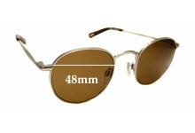 Sunglass Fix Sunglass Replacement Lenses for Raen Benson - 48mm Wide