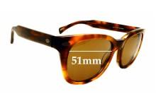 Sunglass Fix Sunglass Replacement Lenses for Raen Loro - 51mm Wide