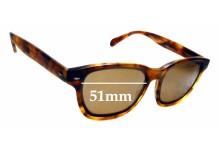 Sunglass Fix Sunglass Replacement Lenses for Raen Lyon - 51mm Wide