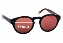 Sunglass Fix Sunglass Replacement Lenses for Raen Parkhurst - 49mm Wide