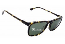 Sunglass Fix Sunglass Replacement Lenses for Raen Wiley - 54mm Wide