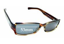Sunglass Fix Sunglass Replacement Lenses for Ralph Lauren 7529/S - 53mm Wide