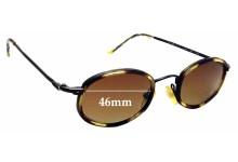 Sunglass Fix Sunglass Replacement Lenses for Ralph Lauren 927/S - 46mm Wide