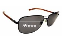 Sunglass Fix Sunglass Replacement Lenses for Ralph Lauren PH 3076 - 59mm Wide
