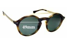 Sunglass Fix Sunglass Replacement Lenses for Ralph Lauren Polo PH 4122 - 49mm Wide
