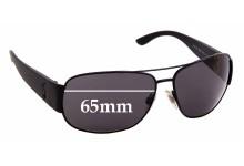 Sunglass Fix Sunglass Replacement Lenses for Ralph Lauren Polo 3063 - 65mm Wide