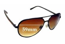 Sunglass Fix Sunglass Replacement Lenses for Ralph Lauren Polo PH 3102 - 59mm Wide