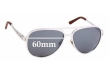 Sunglass Fix Sunglass Replacement Lenses for Ralph Lauren RL 7049Q - 60mm Wide